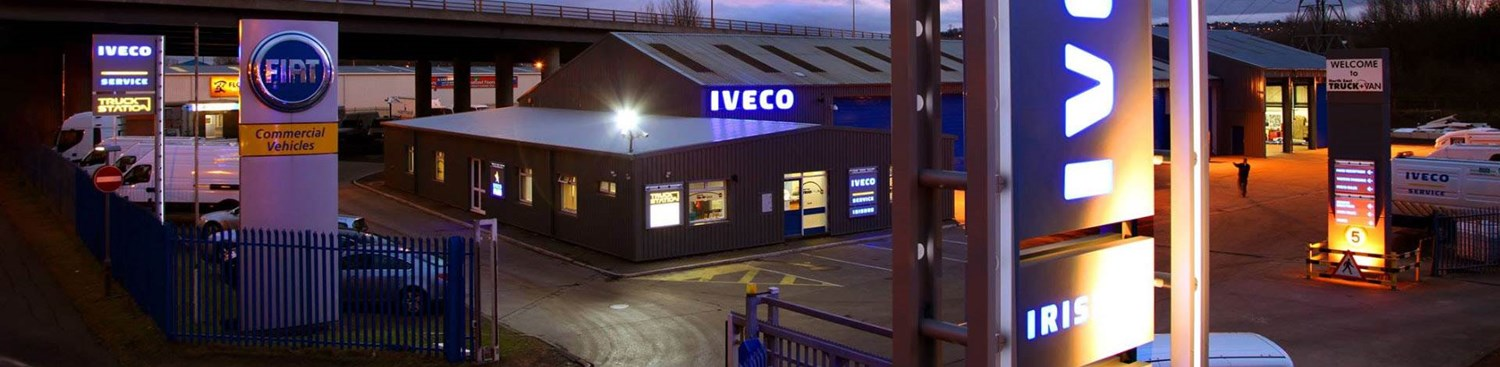 Our Iveco Truck and Van location at Billingham
