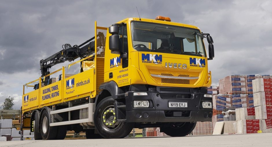 North East Truck and Van supplies first Stralis X-WAYS into MKM Building Supplies