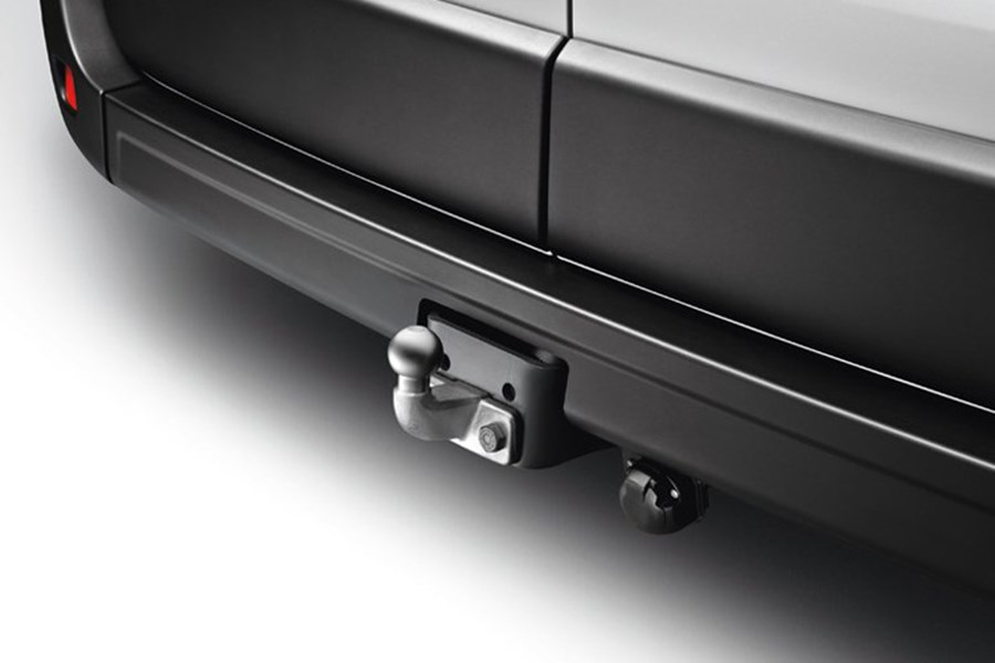 Flanged Towbar, with 7-Pin Single Electrics
