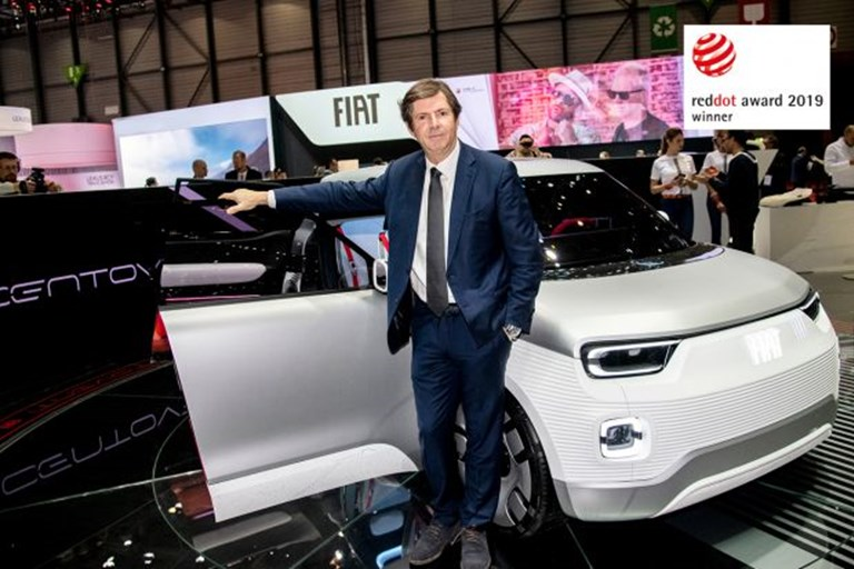 Fiat Concept Centoventi Wins the