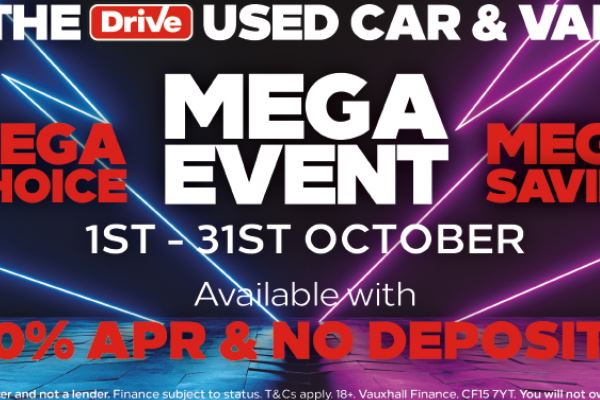 Used Car & Van Mega Event