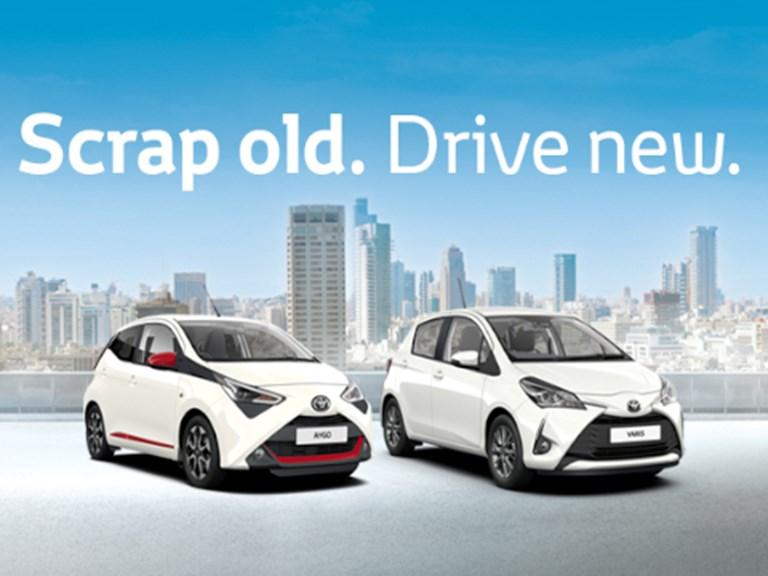 Toyota Scrappage Scheme