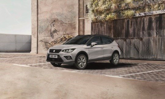 The SEAT Arona SE Technology.  £117.50 per month