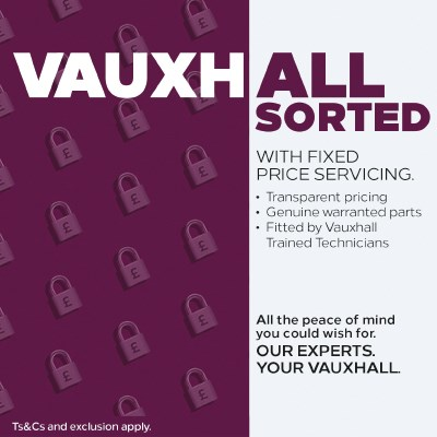Fixed Price Vauxhall Service