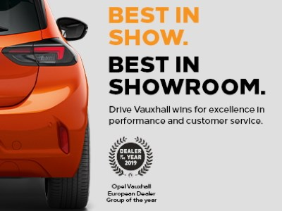 Drive Vauxhall Wins Dealer of The Year 2019
