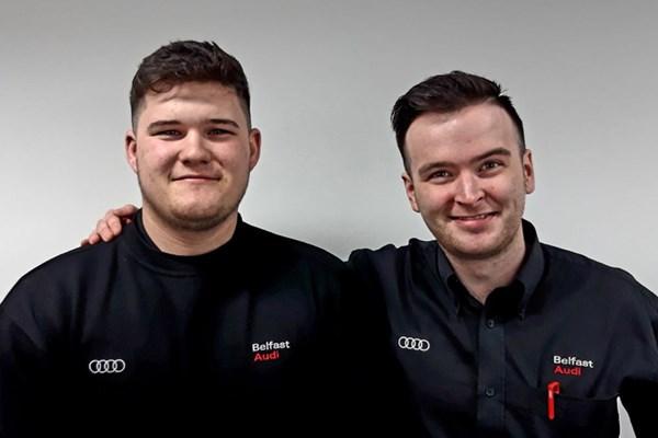 Hard work pays off - Belfast Audi