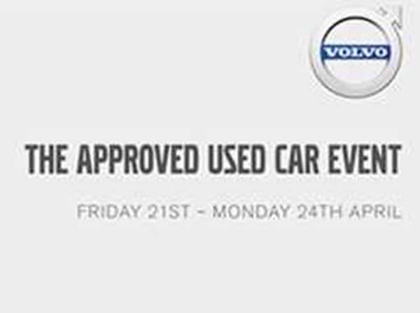 Volvo Approved Used Car Event - Friday 21st until Monday 24th.