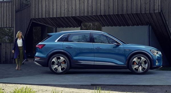 The e-tron: the first all-electric Audi