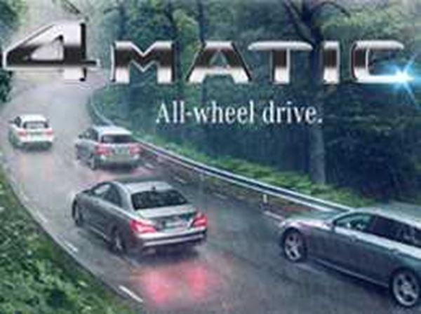 4MATIC. All-Wheel Drive