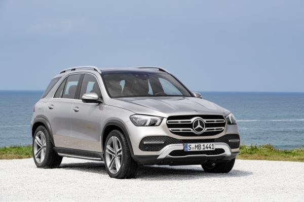 The New Mercedes-Benz GLE is nearly here