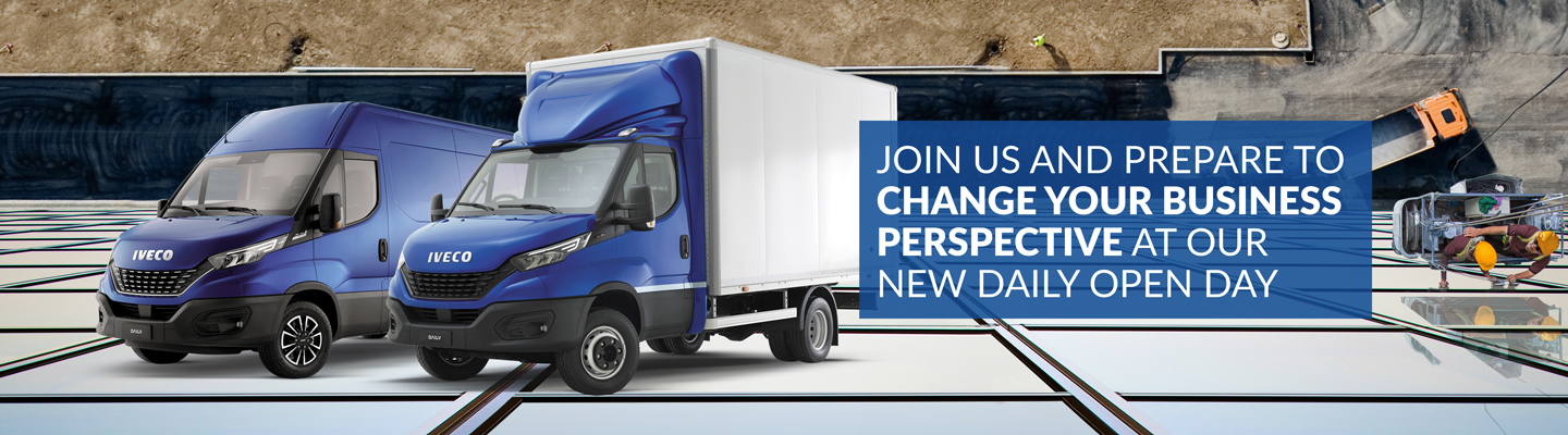 IVECO Daily MY19 Launch Events coming to North East Truck and Van