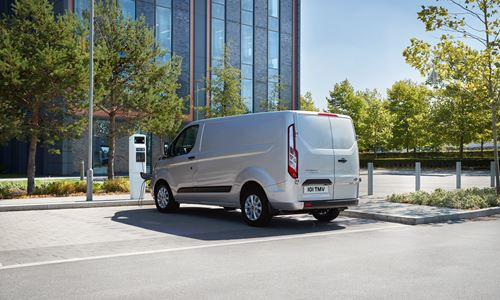 New Ford Transit Custom Plug-In Hybrid