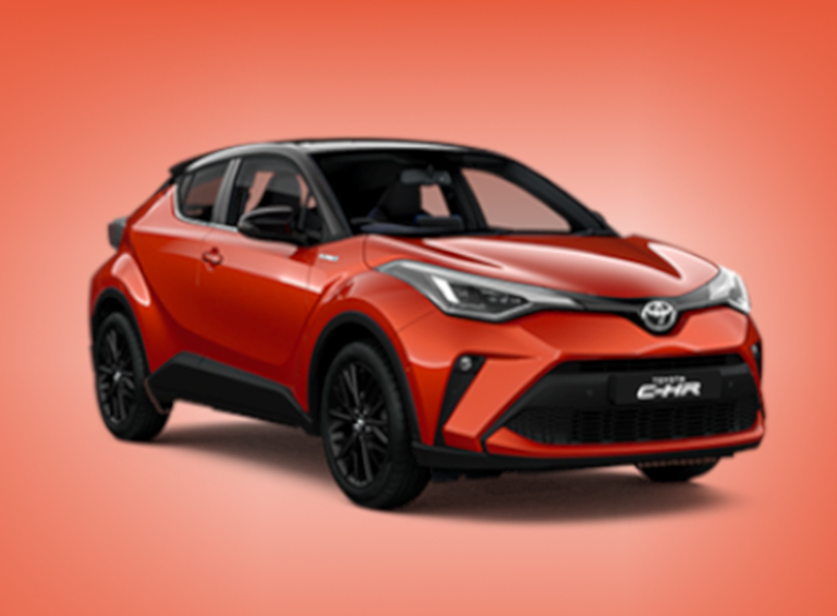 New Toyota C-HR Hybrid Design Orange Edition