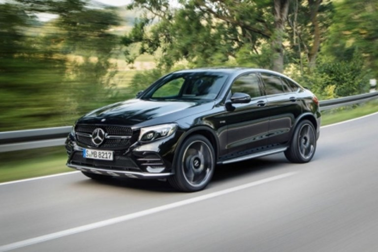 THE MERCEDES-AMG GLC 43 GETS MORE HORSEPOWER IN ITS LATEST MAKEOVER