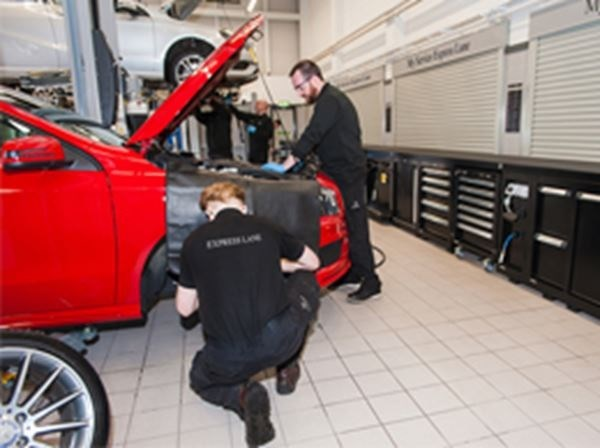Mercedes-Benz Hassle Free MOT Only £99 incl. Test fee