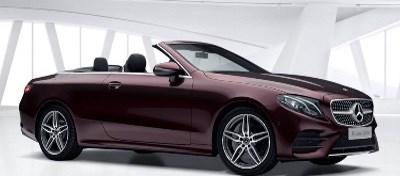 Mercedes-Benz E220d AMG Line Cabriolet