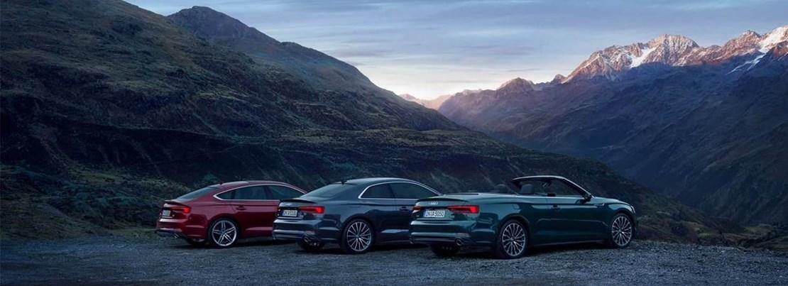 Audi A5 range