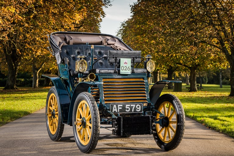 Fiat Marks 120th Anniversary by Sponsoring Bonham's London to Brighton Veteran Car Run