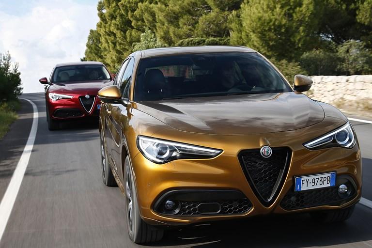 New Alfa Romeo Giulia and Stelvio my2020