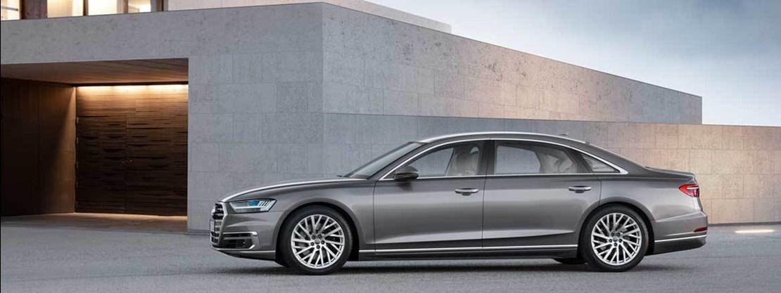 Audi A8 Side View