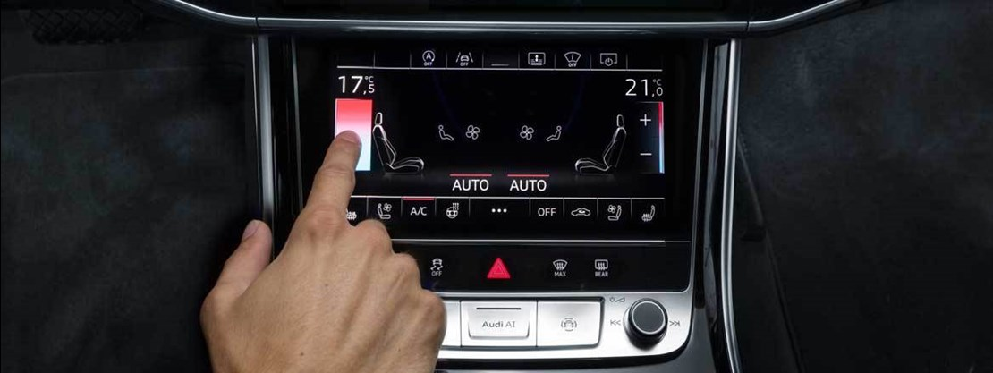 Audi A8 Centre Console