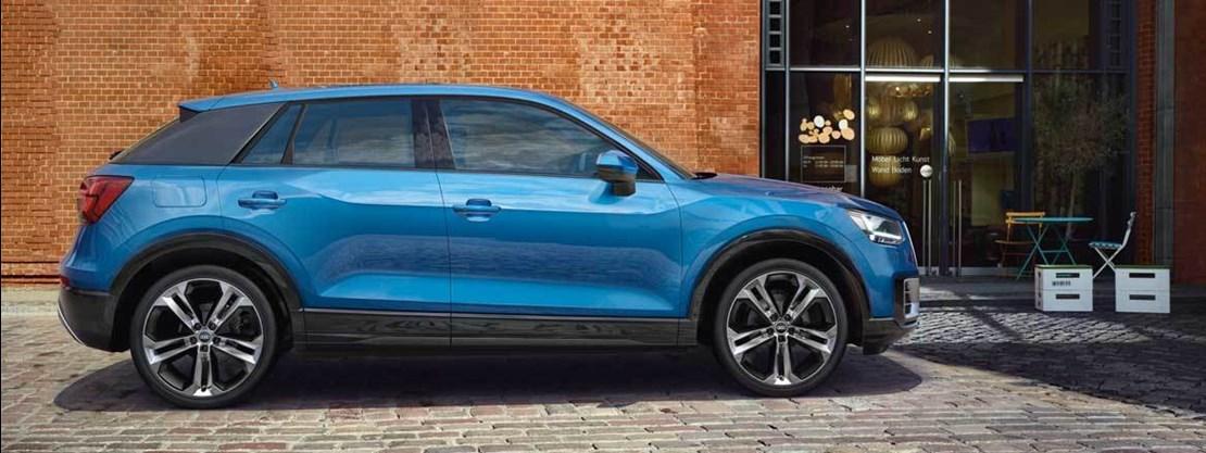 Audi Q2 Side View