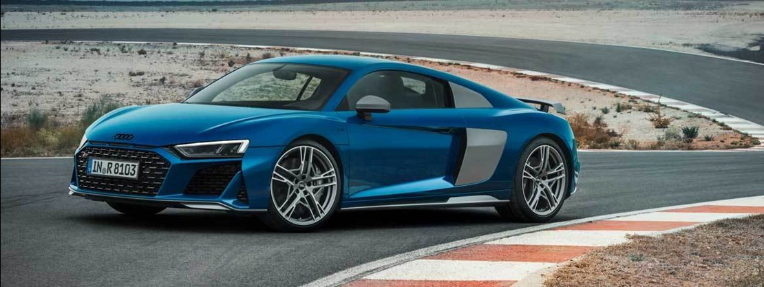 R8 Side View