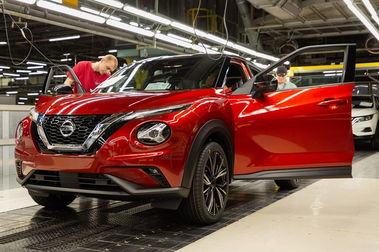 All New Nissan Juke Goes into Production