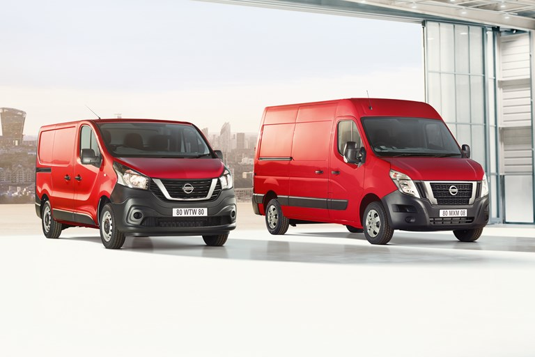 Nissan Upgrades nv300 and nv400 Vans with Improvements to Comfort, Safety and Style Alongside Lower Emissions