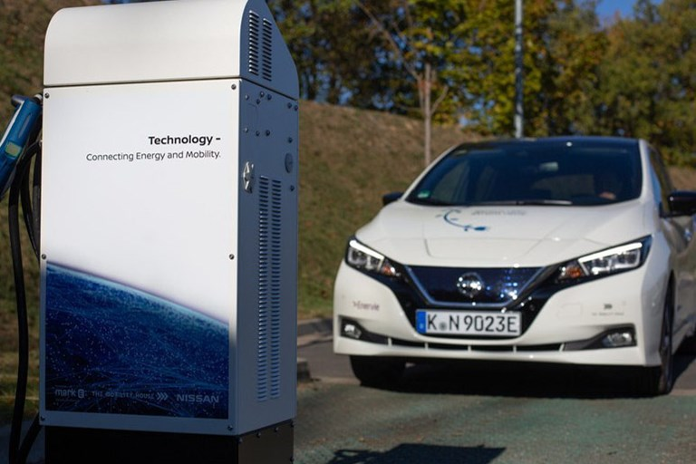 Nissan Leads Calls for Battery Technology Roll-Out to Achieve European Climate Change Targets