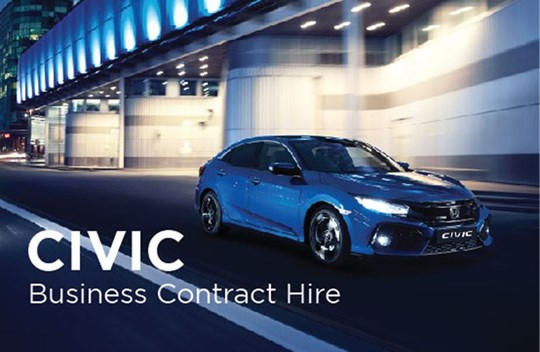 Civic Business Contract Hire Offers