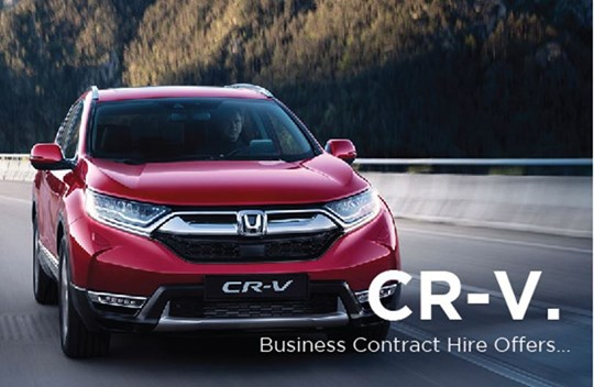 Latest CR-V Business Contract Hire offers