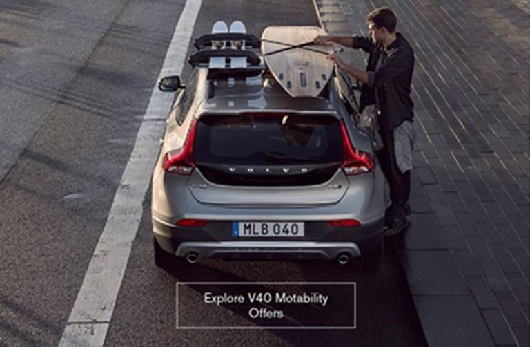 Volvo V40 Motability Offers