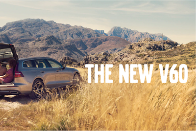 The New Volvo V60 premium estate car available to test drive in Norwich
