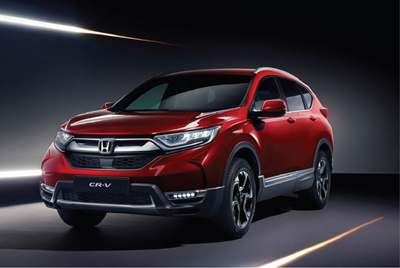 Say hello to the All New CR-V
