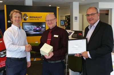 Long Service Award & Renault Guild of Excellence