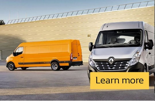 Renault MASTER Contract Hire Offers - From £290.00