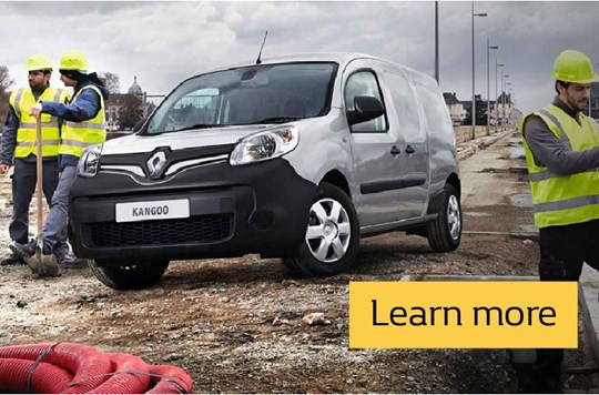 Renault KANGOO Contract Hire - 36 Months offers