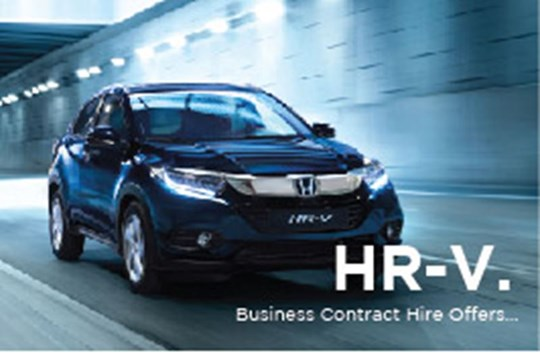 HR-V Business Contract Hire Offers