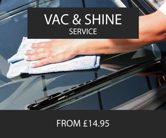 Vac & Shine Service - From £14.95