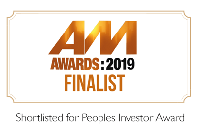 AM Awards 2019 - we've been shortlisted!