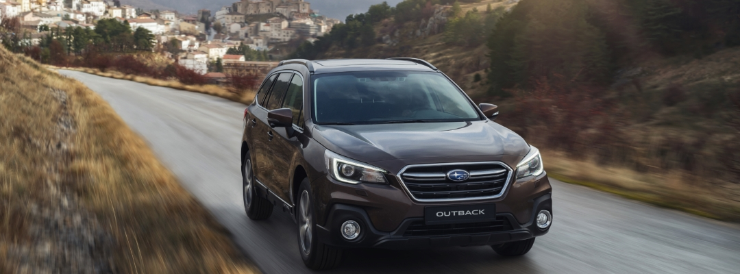 Subaru outback at Simpsons Cars