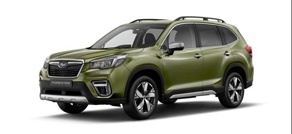 Subaru New Forester e-Boxer Hybrid