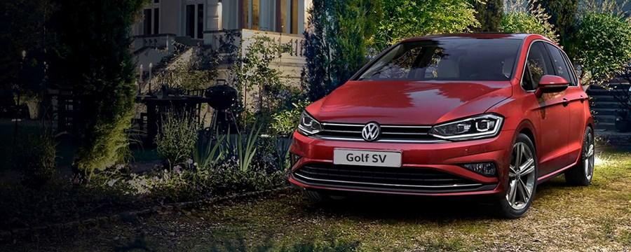 New Volkswagen Golf SV