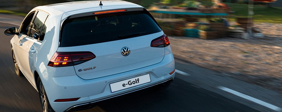 New Volkswagen e-Golf