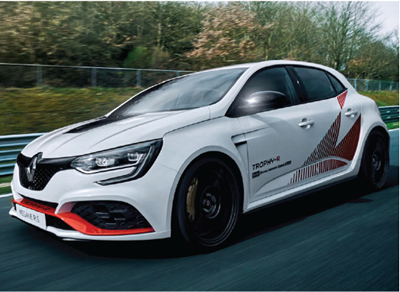 New Renault Megane RS Trophy-R revealed with Nurburgring lap record