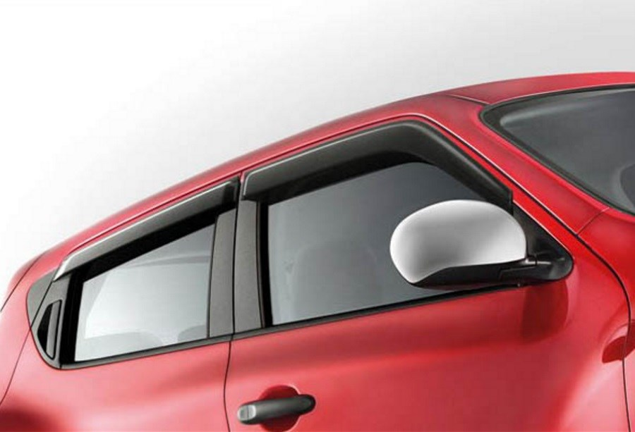 NISSAN JUKE WIND DEFLECTORS (FRONT AND REAR)