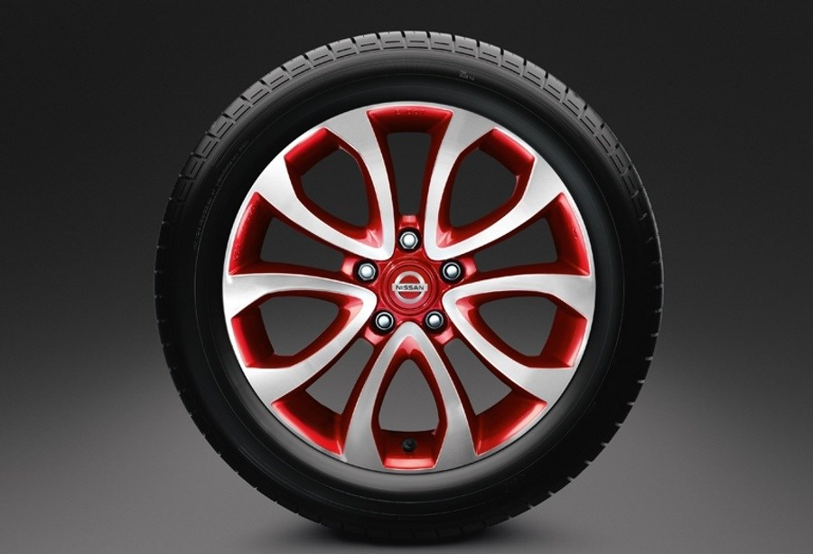 "NISSAN JUKE 17"" ALLOY WHEELS"