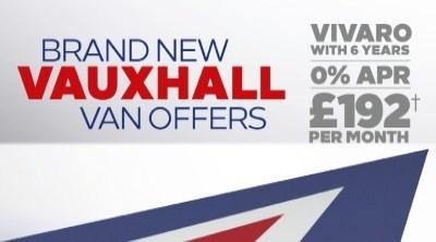 Brand New Vauxhall Van Offers - Vivaro