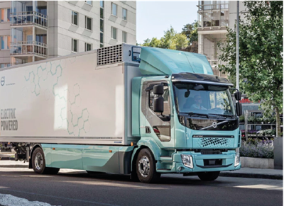 Volvo delivers its first electric trucks